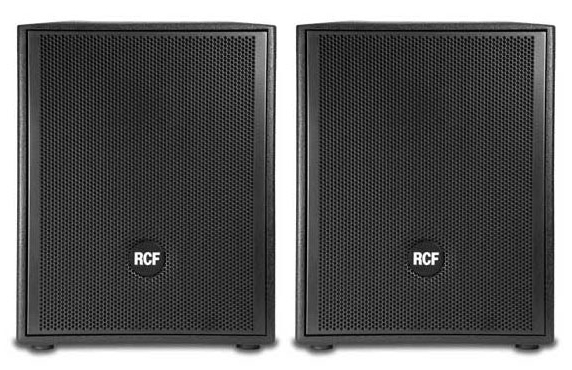 RCF art905as subwoofer DiscoCrew drive-in show licht geluid